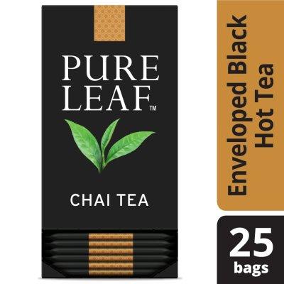 Sachets de thé chai PureLeafᴹᶜ, 25sachets, paquet de 6