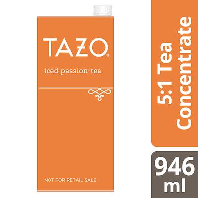 TAZO® Concentré de Thé Glacé Passion 1:1 6 x 946 ml -