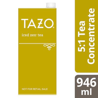 TAZO® Concentré de Thé Glacé Zen 5:1 6 x 946 ml -