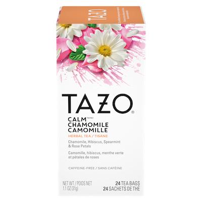 TAZO® Thé Calm Camomille 6 x 24 sachets - Nous préparons nos propres mélanges avec TAZO® Thé Calm Camomille 6 x 24 sachets: osez être différent