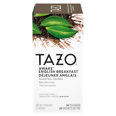 TAZO® Thé Déjeuner Anglais 6 x 24 sachets - Nous préparons nos propres mélanges: osez être différent