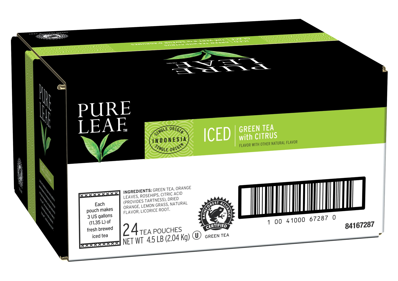Thé vert glacé Pure Leafᵀᴹ/ᴹᶜ à la saveur d'agrumes - 10041000672245 - Le thé Pure Leafᵀᴹ/ᴹᶜ est fait avec uniquement les meilleurs.