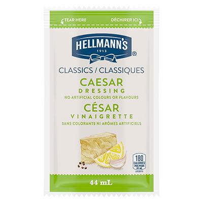 Vinaigrette classique César de Hellmann's en portion normalisée, sachet de 44 ml, paquet de 102 -