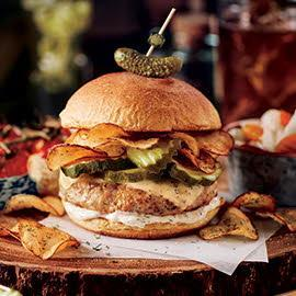 Pickle Lovers Burger