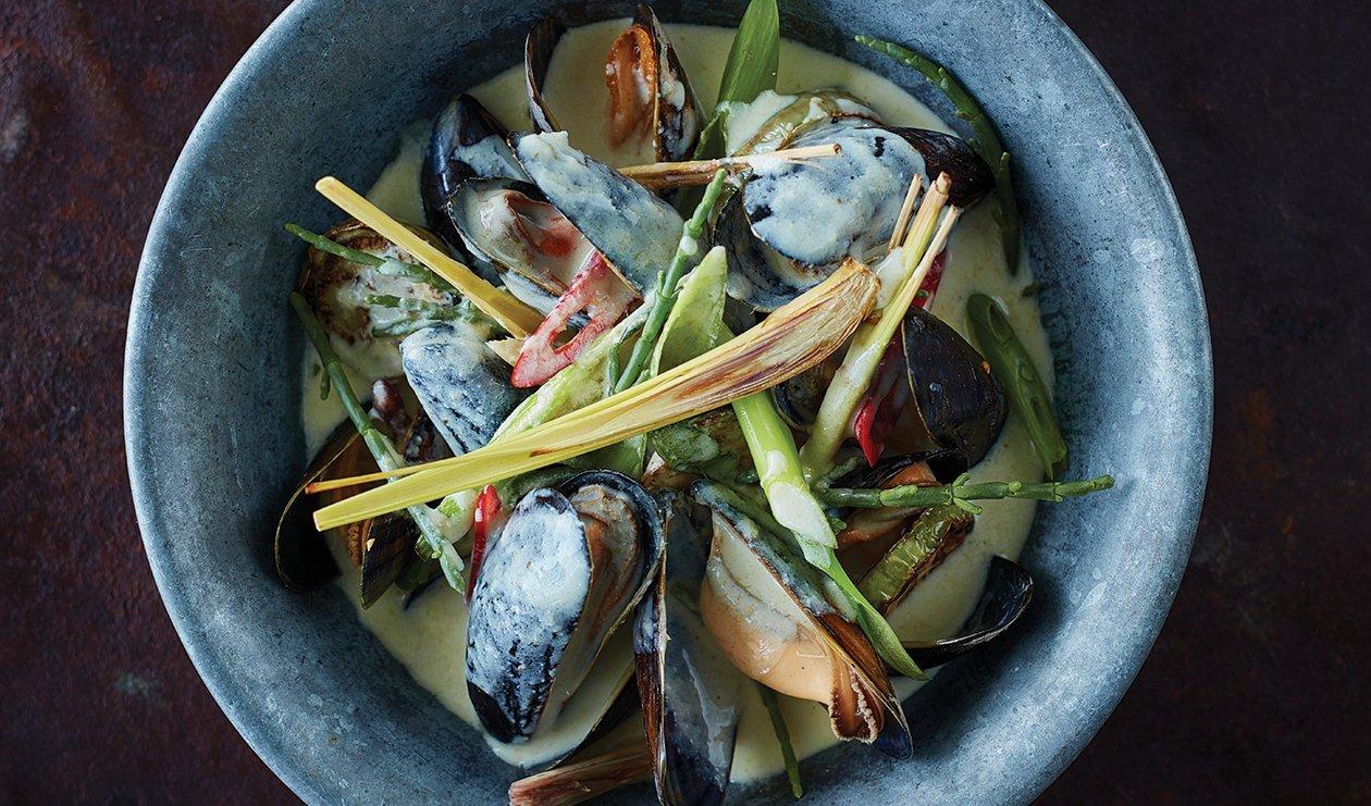 Cari Vert Thaï aux Fruits de Mer – recette