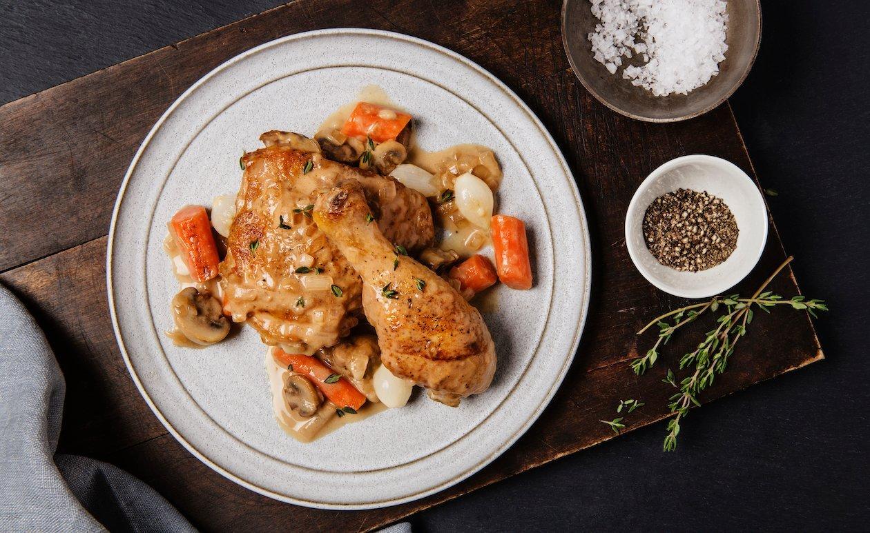 Chicken à la Moutarde – recette