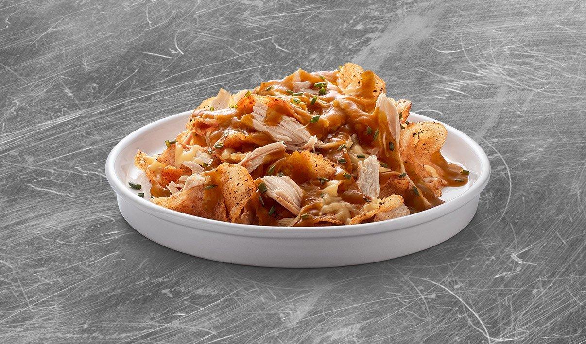 Chips de Pommes de Terre au Poulet Fumé – recette