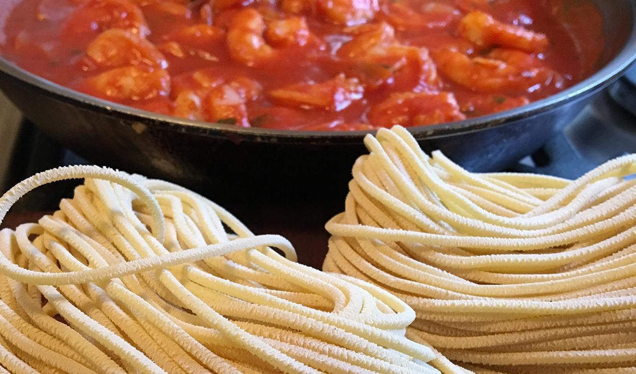 Crevettes Fra Diavolo – recette