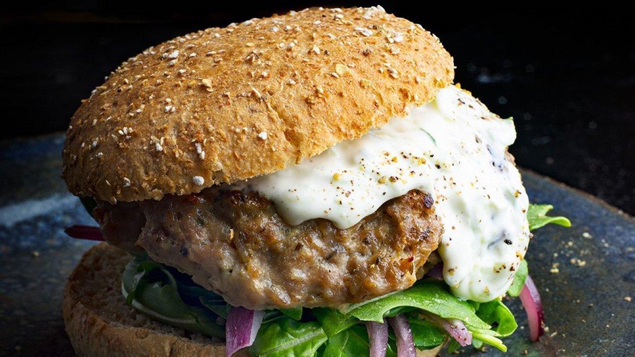 Hamburger à l'Agneau et à l'Aubergine – recette