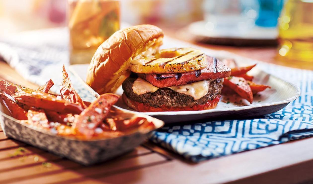 Hamburger à l'Hawaïenne – recette