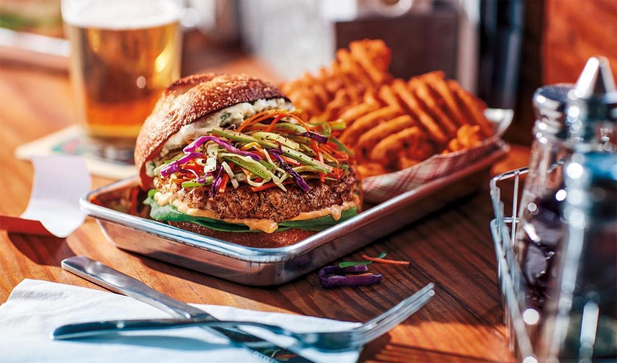 Hamburger au Poulet Style Buffalo – recette