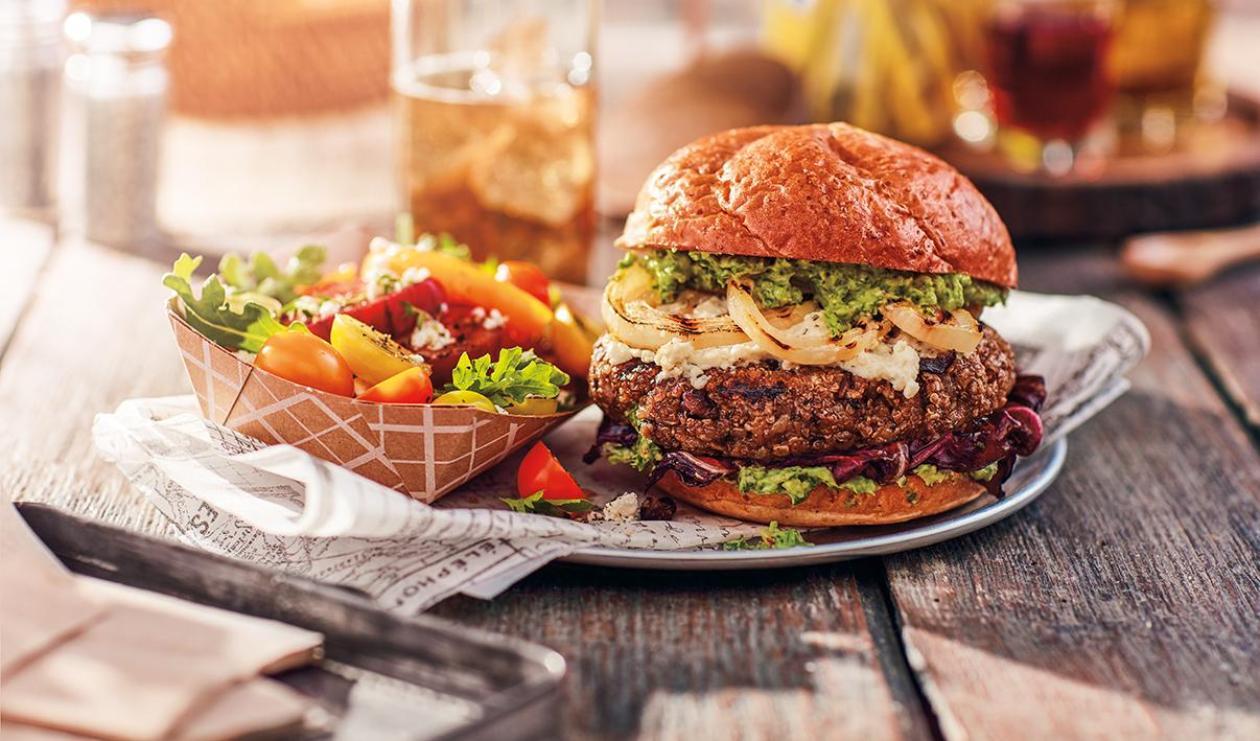Hamburger aux Haricots Noirs – recette