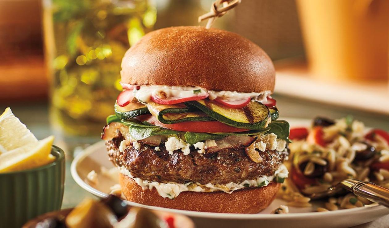 Hamburger d'agneau aux fines herbes – recette