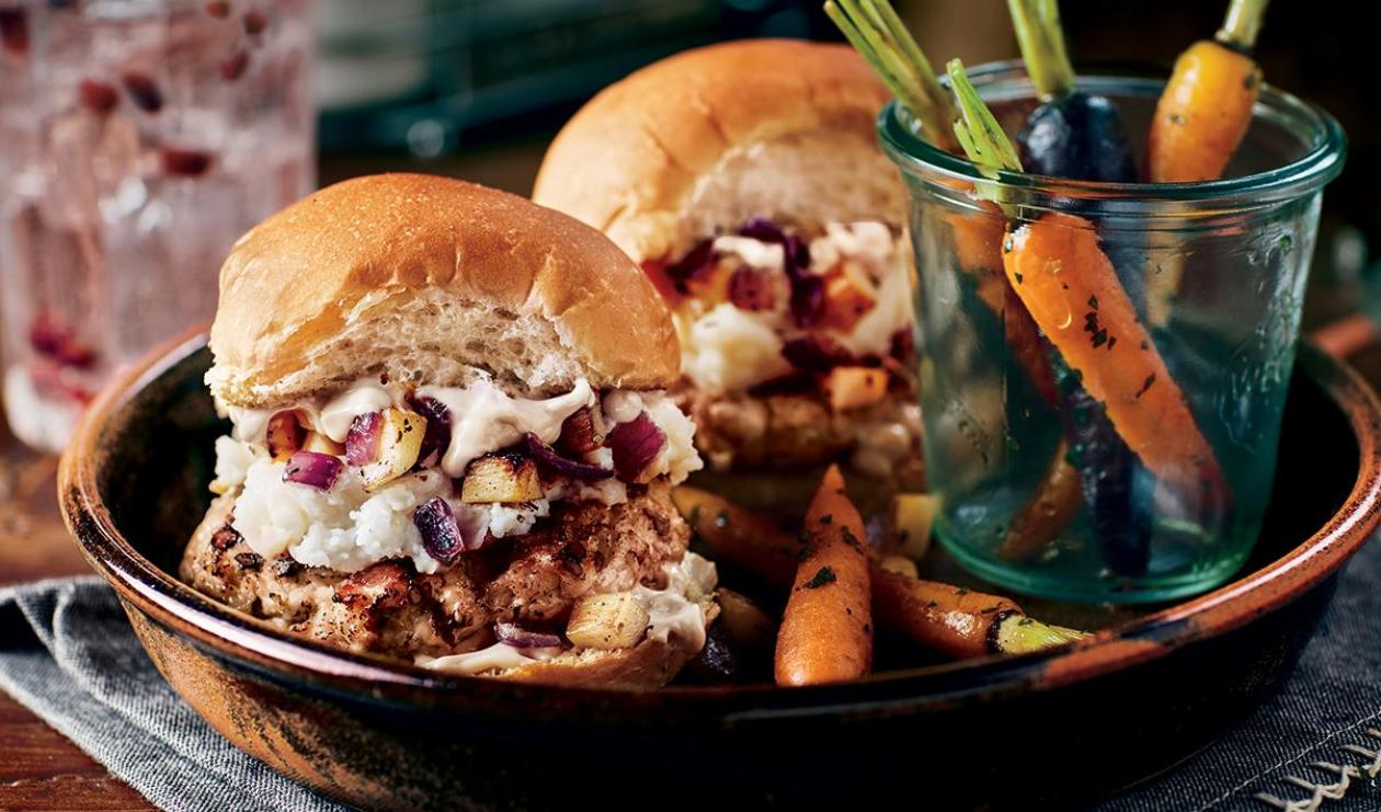 Hamburger des Fêtes à la Maison – recette