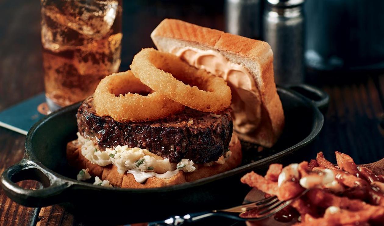 Hamburger Géant au Pain de Viande – recette