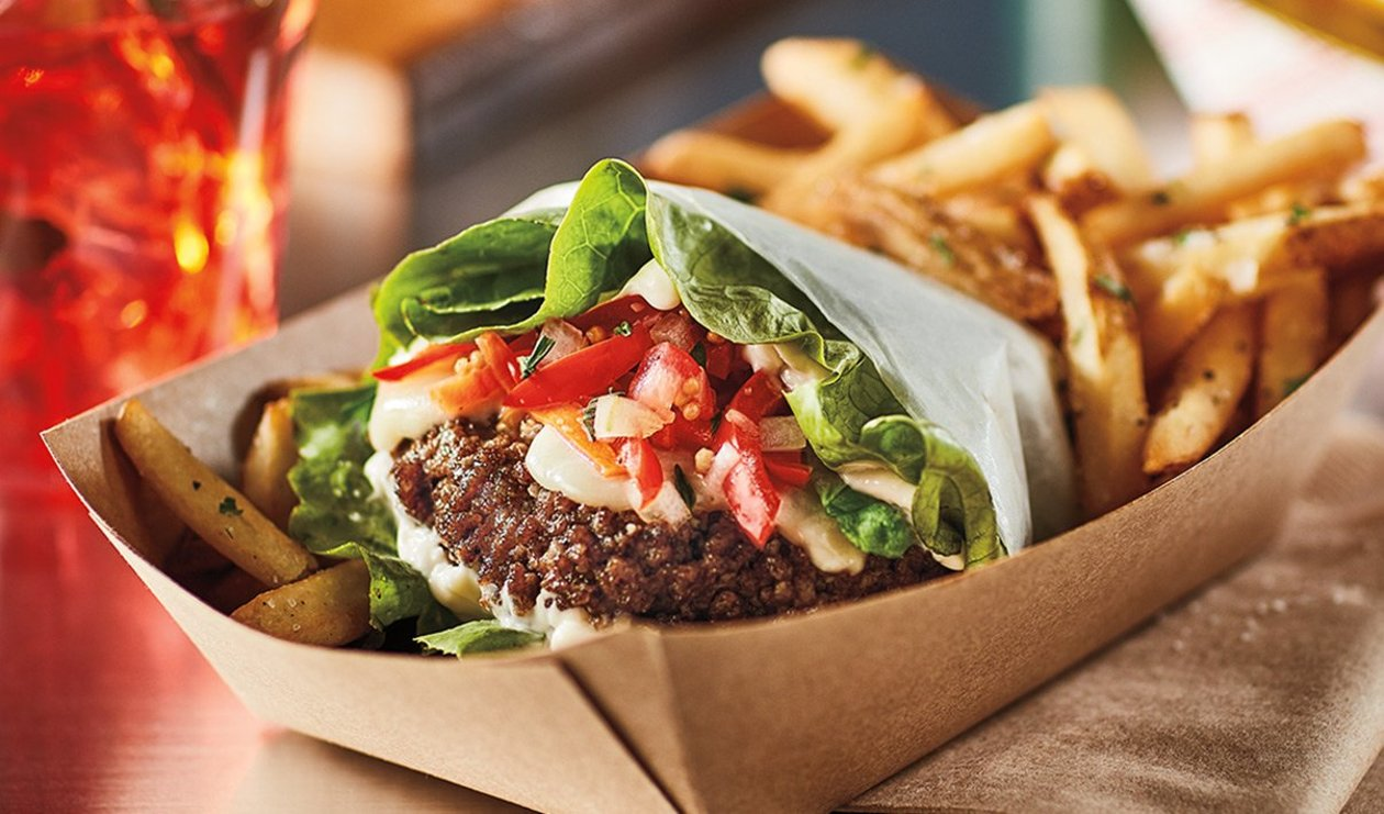 Hamburger printanier au chow-chow – recette