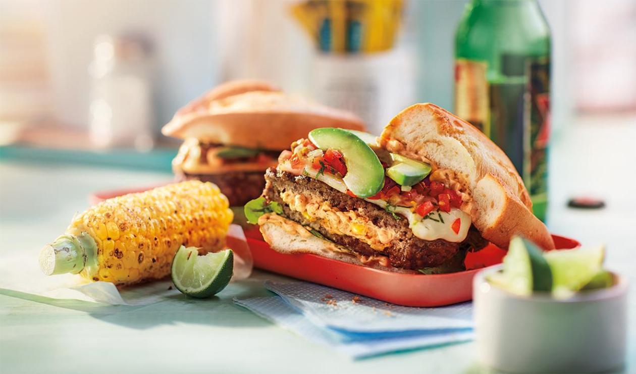 Hamburger Tex-Mex  – recette