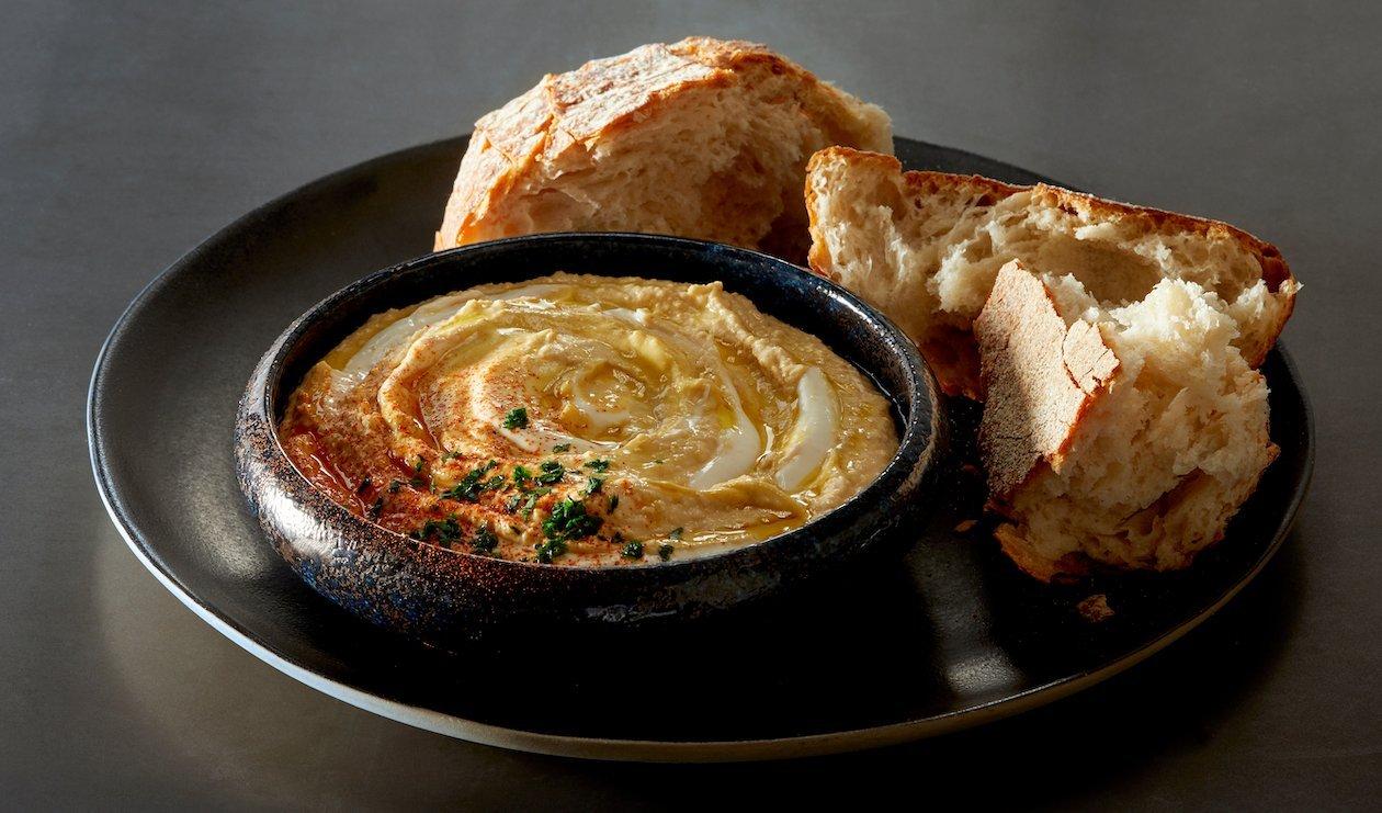 Hummus au Yogourt Grec – recette
