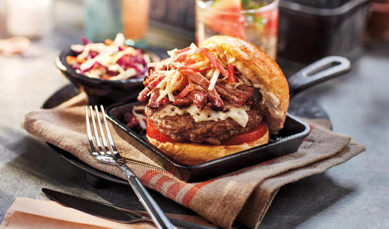 L'Ultime Hamburger de Porc – recette