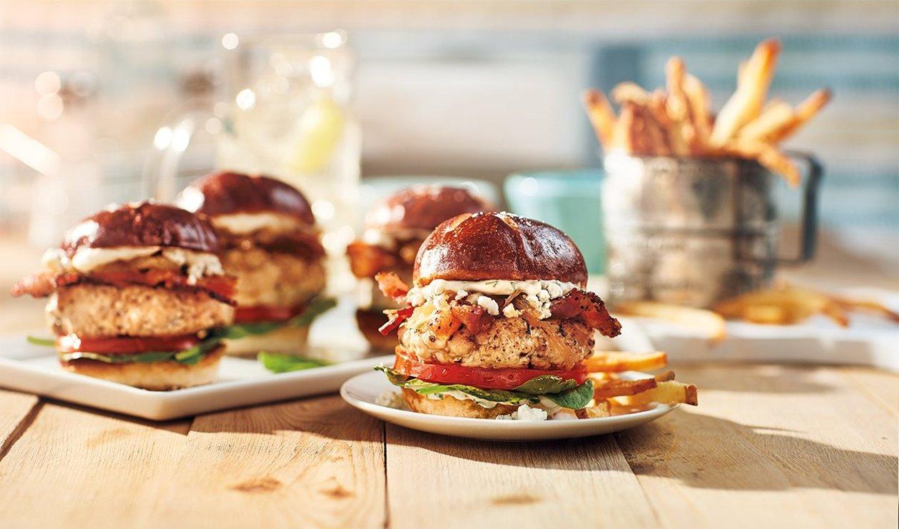 Mini-Hamburgers à la Dinde – recette