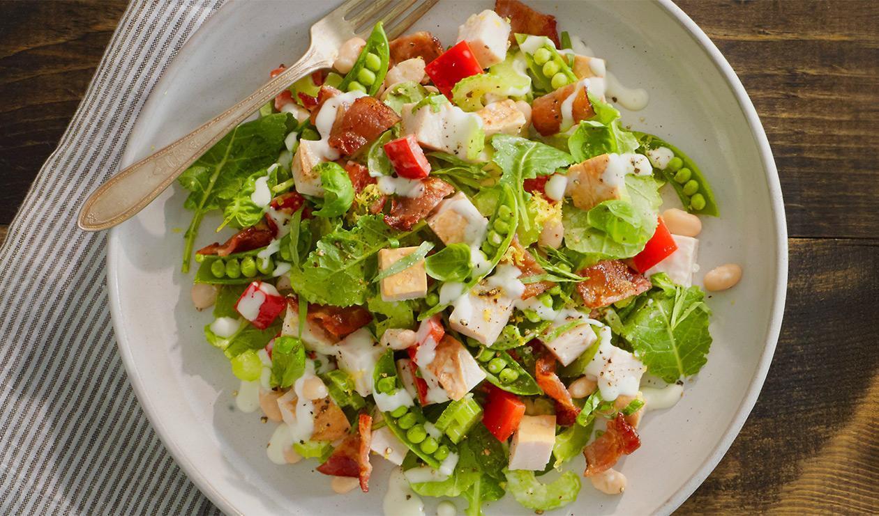 Salade de dinde fumée – recette