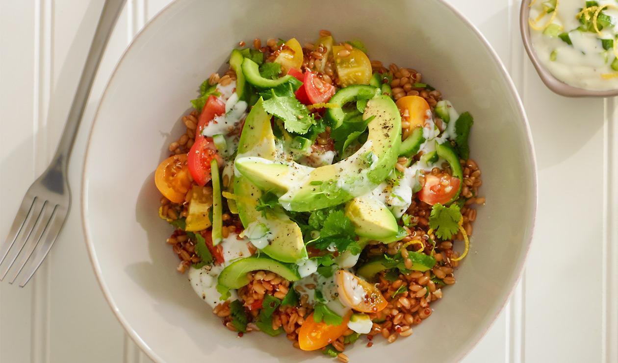 Salade de taboulé aux herbes – recette