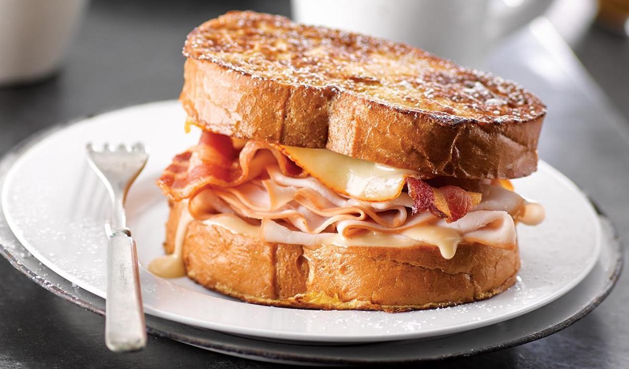 Sandwich pain doré aux belles pirouettes – recette