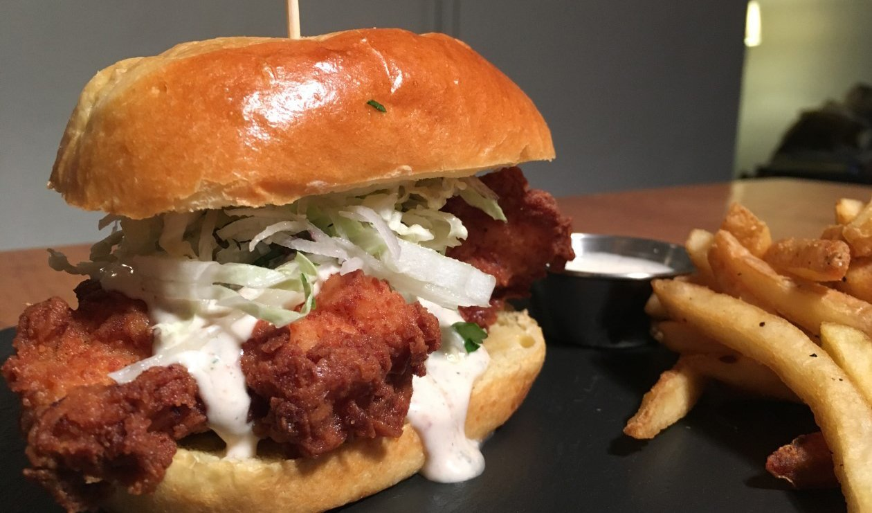 Smoky 'n Spicy California Ranch Chicken Sandwich – recette