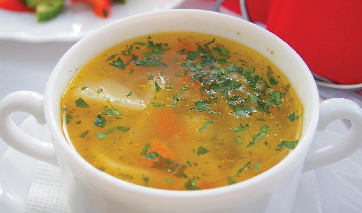 Soupe Caribéenne au Poulet – recette
