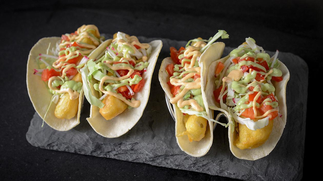 Tacos au Poisson Style Baja avec Flétan – recette