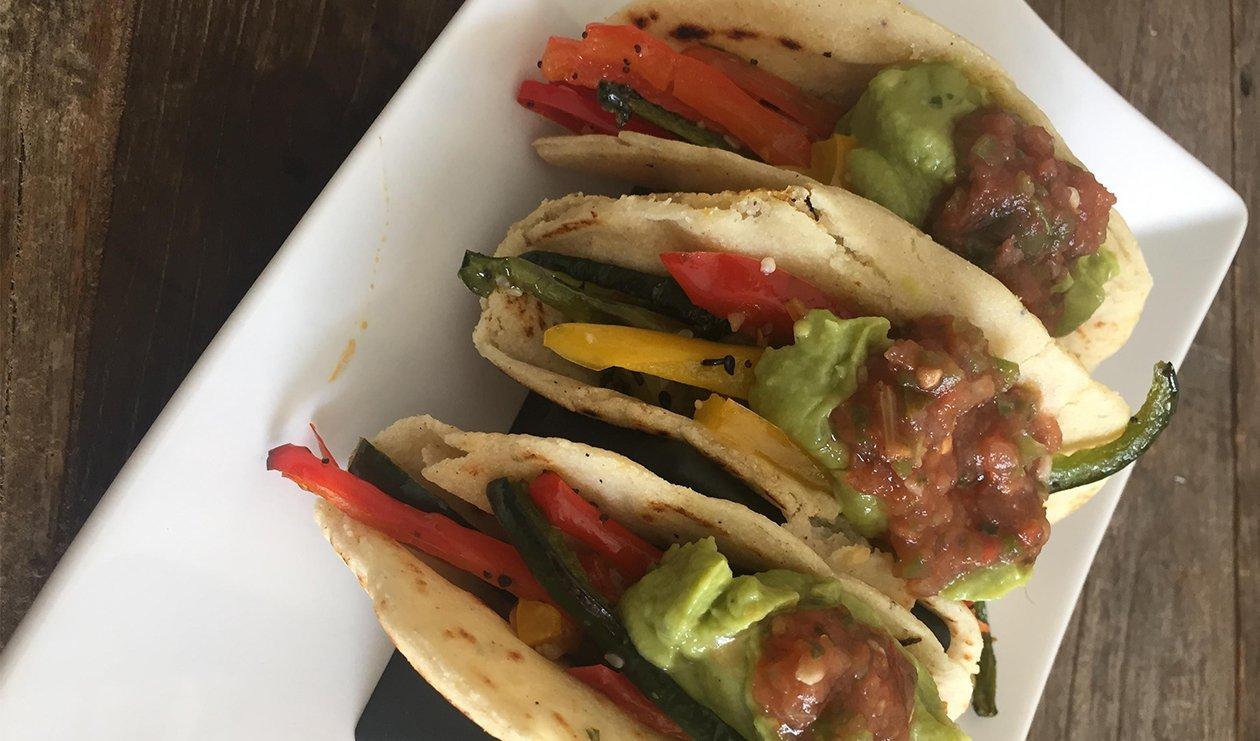 Tacos Végétariens Ranch Mexicains – recette