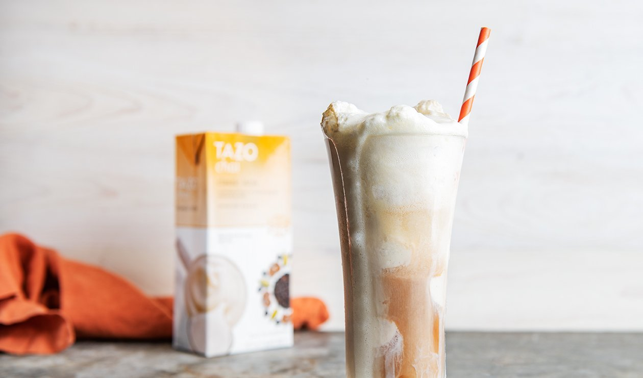 Tazo Chai Ginger Beer Float – recette