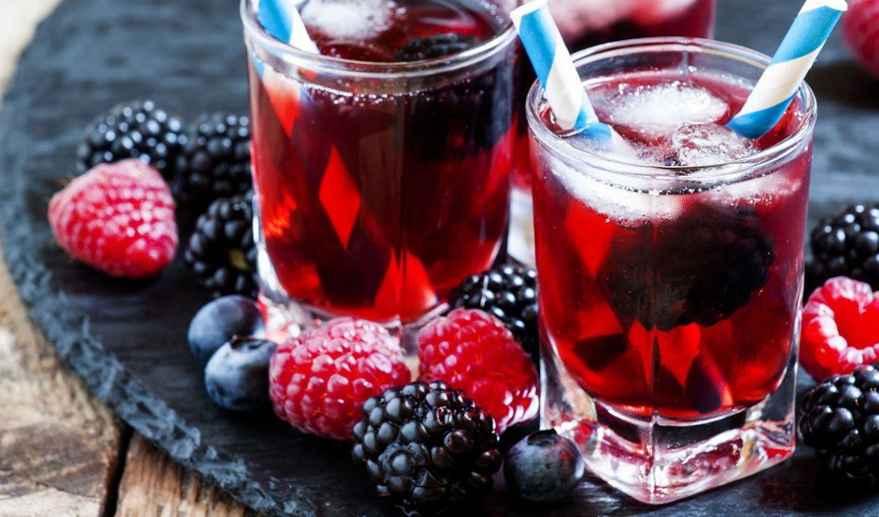 Thé noir à saveur de baies et de grenade – recette
