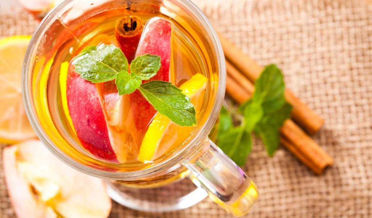 Tisane pomme cannelle à la cerise – recette