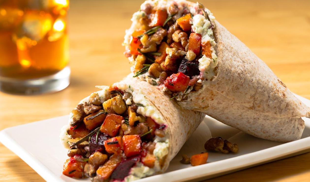 Wrap aux Lentilles et aux Légumes Racines – recette