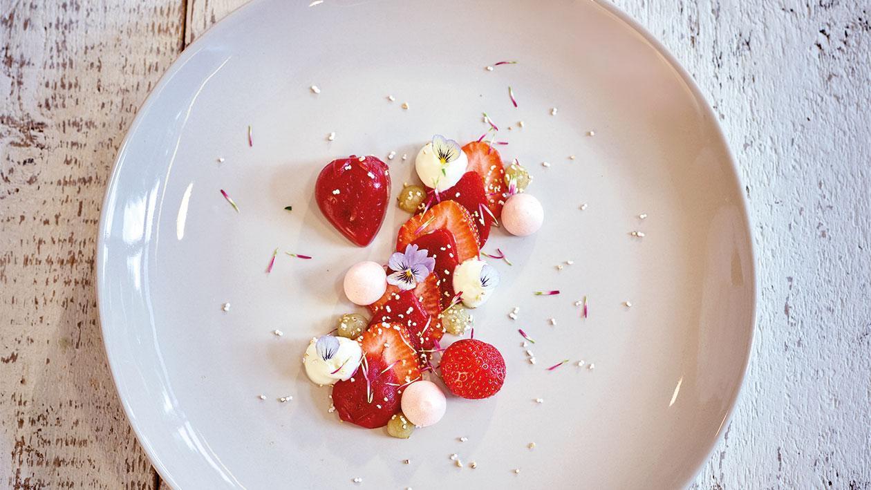 Le trio de fraises