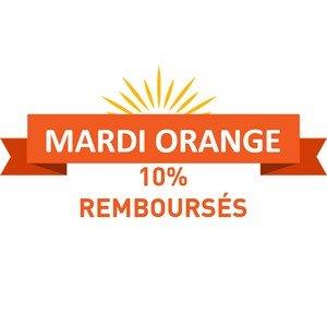 10% de votre pré-commande remboursés pour le Mardi Orange par UFS ! (Vous allez recevoir un 2nd email pour la démarche à suivre). -