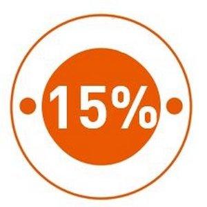 15% de votre pré-commande remboursés ! -