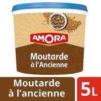 Amora Moutarde à l'ancienne seau 5kg