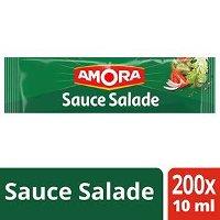 Amora Sauce salade - Carton de 200 dosettes de 10 ml