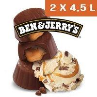 Ben & Jerry's Bac Caramel Chew Chew - 2 x 4,5L