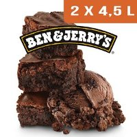 Ben & Jerry's Bac Chocolate Fudge Brownie- 2 x 4,5L
