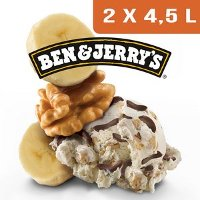 Ben & Jerry's Bac Chunky Monkey - 2 x 4,5L