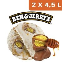 Ben & Jerry's Bac Home Sweet Honeycomb - 2 x 4,5L