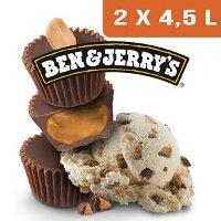Ben & Jerry's Bac Peanut Butter  - 2 x 4,5L