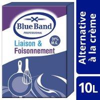 Blue Band Crème Végétale Liaison et Foisonnement 31% 10L