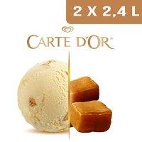 Carte d'Or Crème glacée Caramel - 2,4 L