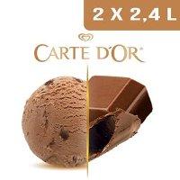 Carte d'Or Crème glacée Chocolat au lait - 2,4 L
