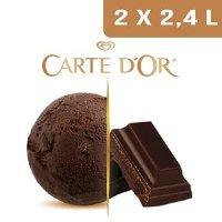 Carte d'Or Crème glacée Chocolat noir - 2,4 L