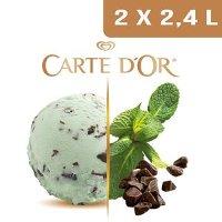 Carte d'Or Crème glacée Menthe - 2,4 L